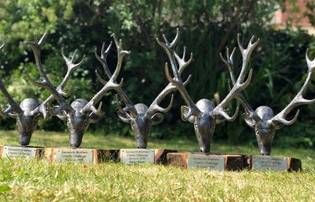 Bespoke trophies made for the Samworth Brothers Charity Challenge - Exmoor 2019