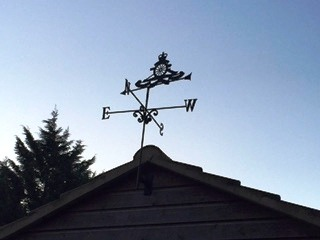 Bespoke royal artillery weathervanes