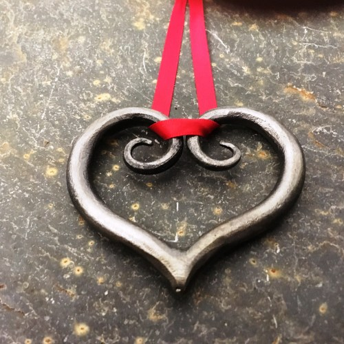 Hearts by West Country Blacksmiths