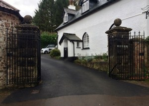 Large pivoting gate restoration by West Country Blacksmiths