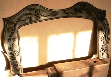Fire surround by West Country Blacksmiths