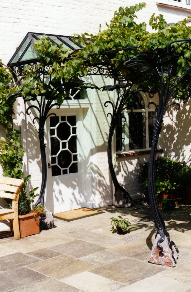 Canopies, Awnings and Pergolas by West Country Blacksmiths
