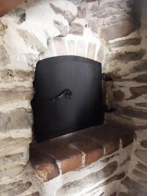 Bespoke bread oven door
