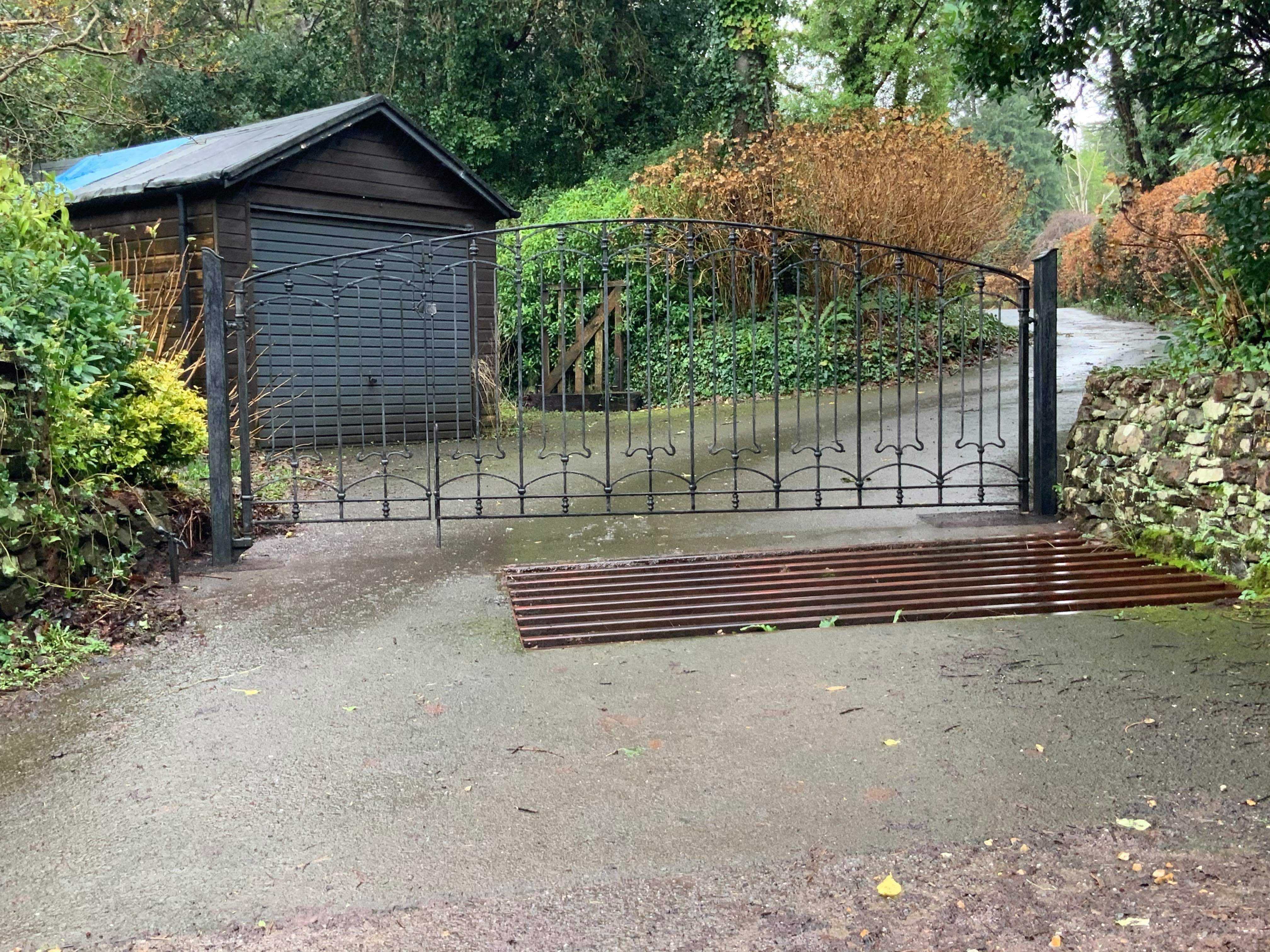 Luccombe gates by West Country Blacksmiths