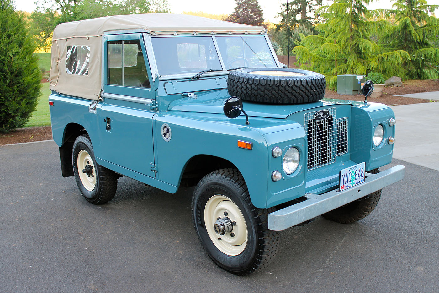 Spotted  Land Rover Series Iia 88      West County Explorers