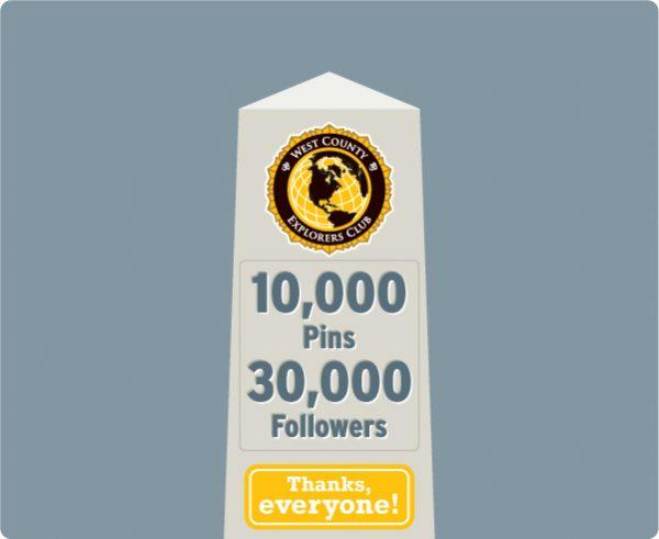 WCXC Pinterest: 10,000 Pins, 30,000 Followers