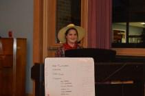 Our fearless farmer accompanist :)
