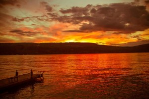 Red sky at morning, sailor take warning...