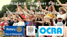 Rotary Summer Fair and Sporting Sunday Redux