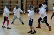 Image: Juniors' fencing Okehampton