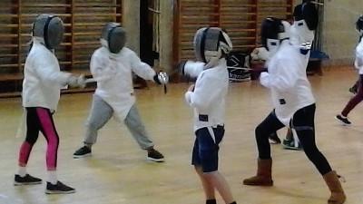 Image: Juniors Fencing Okehampton