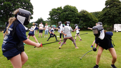 West Devon Swords at the South West Youth Games 2017