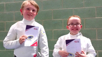 Image: OCRA fencing juniors