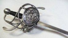 Pappenheimer III Teardrop Ring rapier