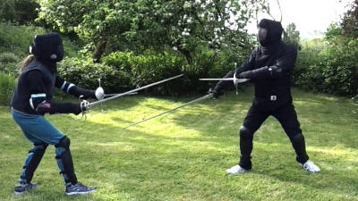 Swords in the Park on June 3rd