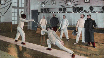 Fencing in the 19th century