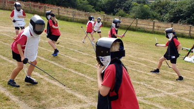 West Devon Swords 'Schools for Summer'