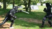 May Melee 2014 - Catling in competition