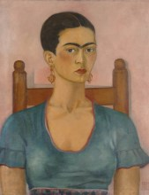 Frida Kahlo, Self-Portrait, 1930