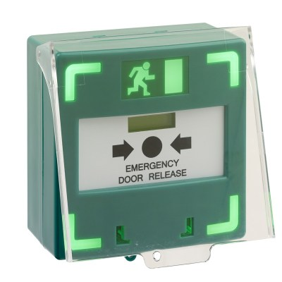 Kac Green Break Glass Data Sheet