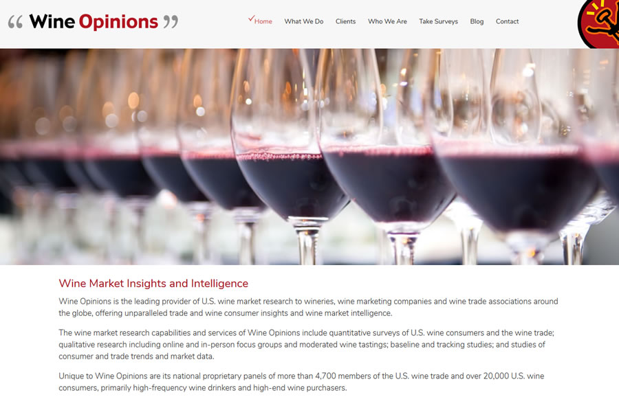 wine opinions - wine industry research