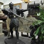 SOLD Samurai Statue