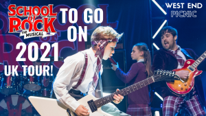 School of Rock the Musical to go on 2021 UK Tour