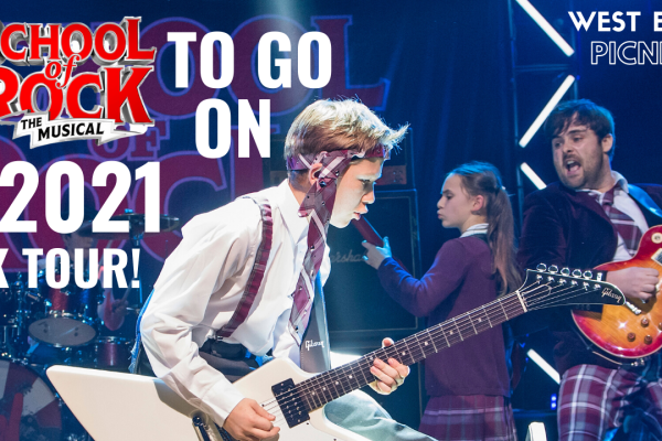 Andrew Lloyd Webber's School of Rock – The Musical To Tour the UK and Ireland in 2021