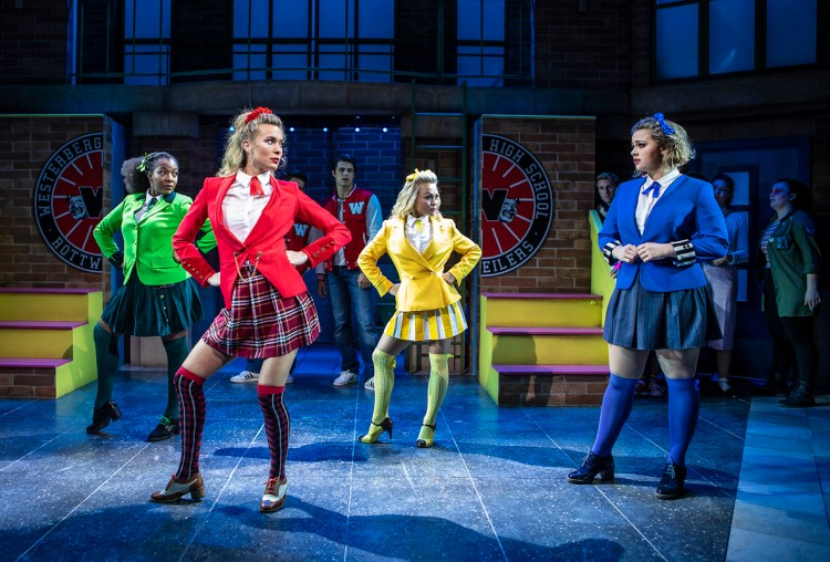 Heathers at the Theatre Royal Haymarket starring Carrie Hope Fletcher