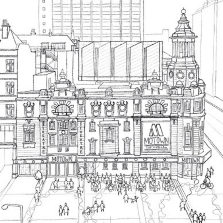 Permission has been granted to the Shaftesbury Theatre in London's West End to add new foyer spaces, accessible ramps, and an outdoor space as part of a new redevelopment plan.