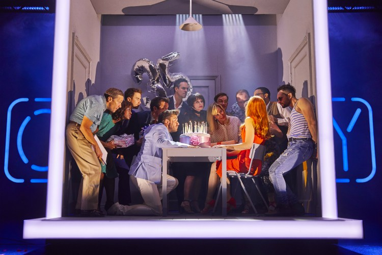 Company at the Gielgud Theatre in London's West End