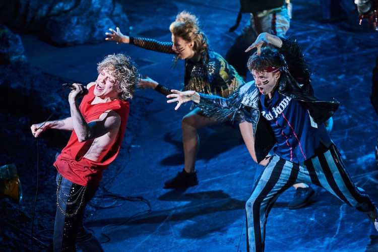 Bat Out of Hell at the Dominion Theatre