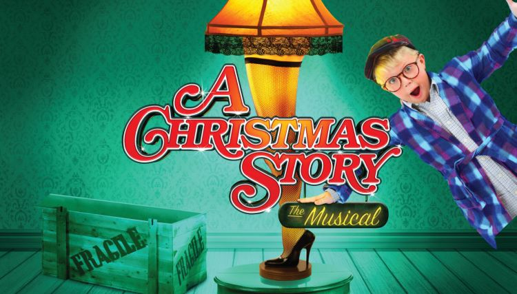 A Christmas Story: The Musical at the Waterloo East Theatre