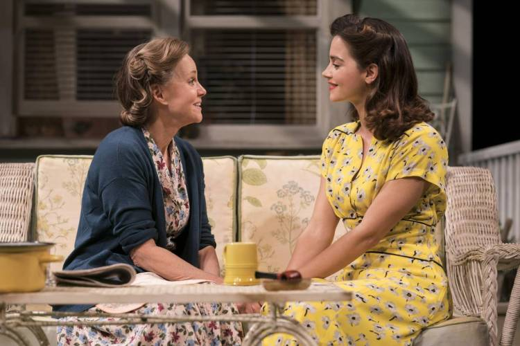 All my sons at The Old Vic starring Jenna Coleman and Colin Morgan