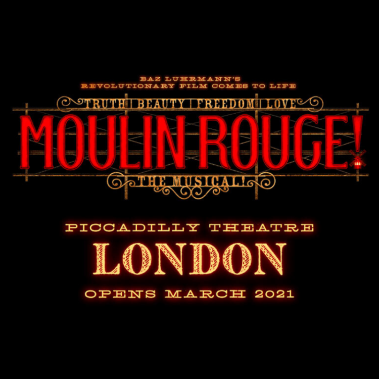 Moulin Rouge to come to the Piccadilly Theatre in London's West End