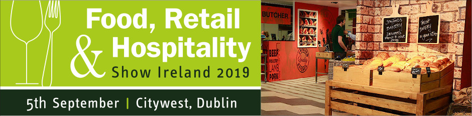 Food, Retail & Hospitality Show Ireland 2019 banner and logo