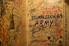 Writing on the bathroom wall in the Elephant House done by J.K. Rowling