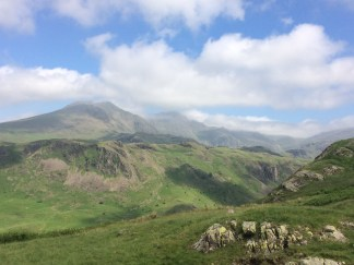Our view from Hardknott Fort