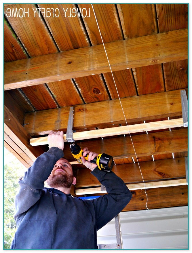 Diy Under Deck Ceiling