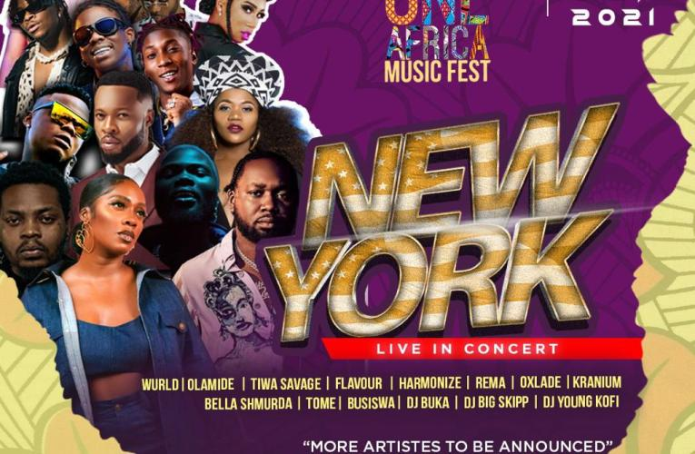 Interswitch One Africa Music Fest Brings The Ultimate Afrobeats Party To Brooklyn