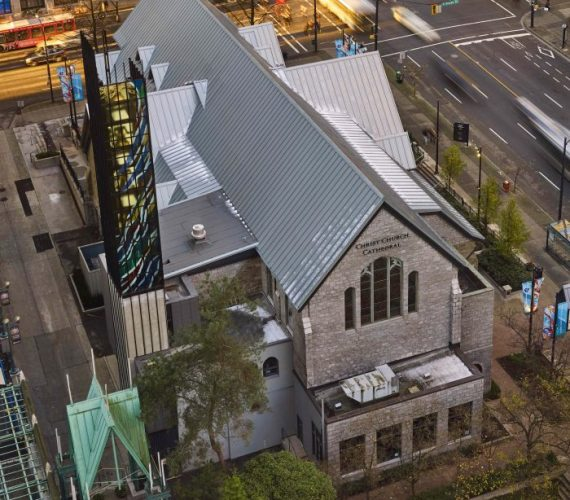 Zinc Roofing Protects Heritage of Vancouver Church