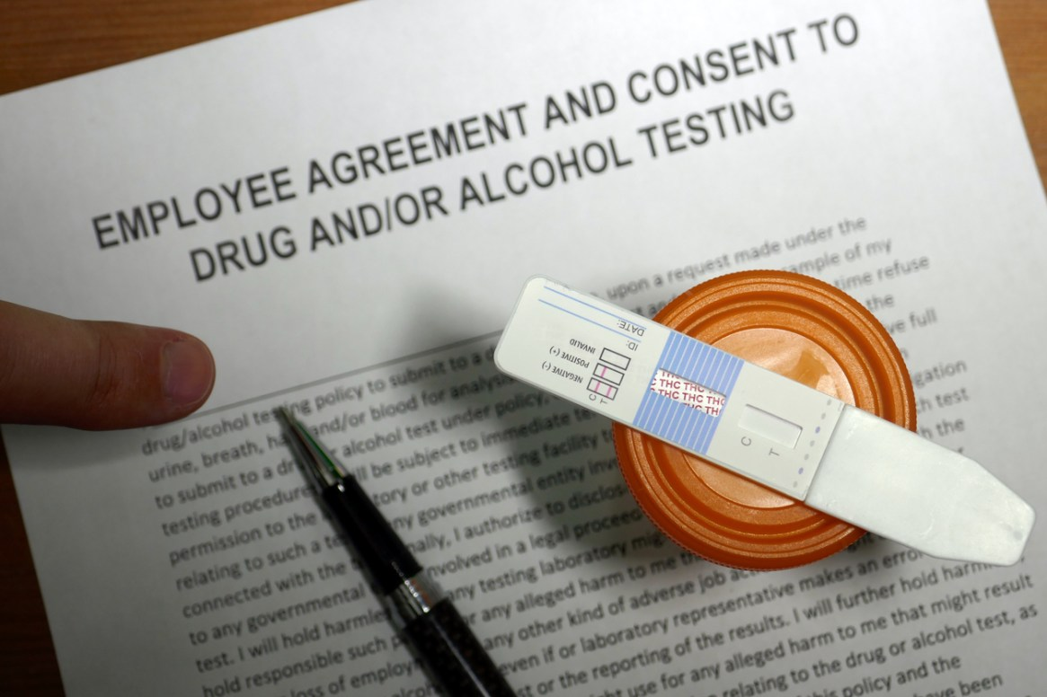 Employment Cannabis drug test