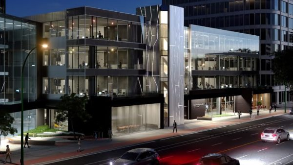 The former Police Service headquarters are undergoing a massive renovation to transform the space into a state-of-the-art, modern, and sustainable office building in Saskatoon, Saskatchewan.