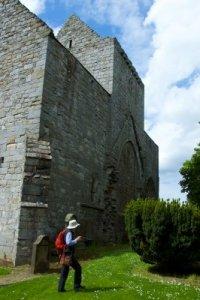 dowsing at Torphichen Preceptory