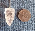Himalayan quartz pendulum