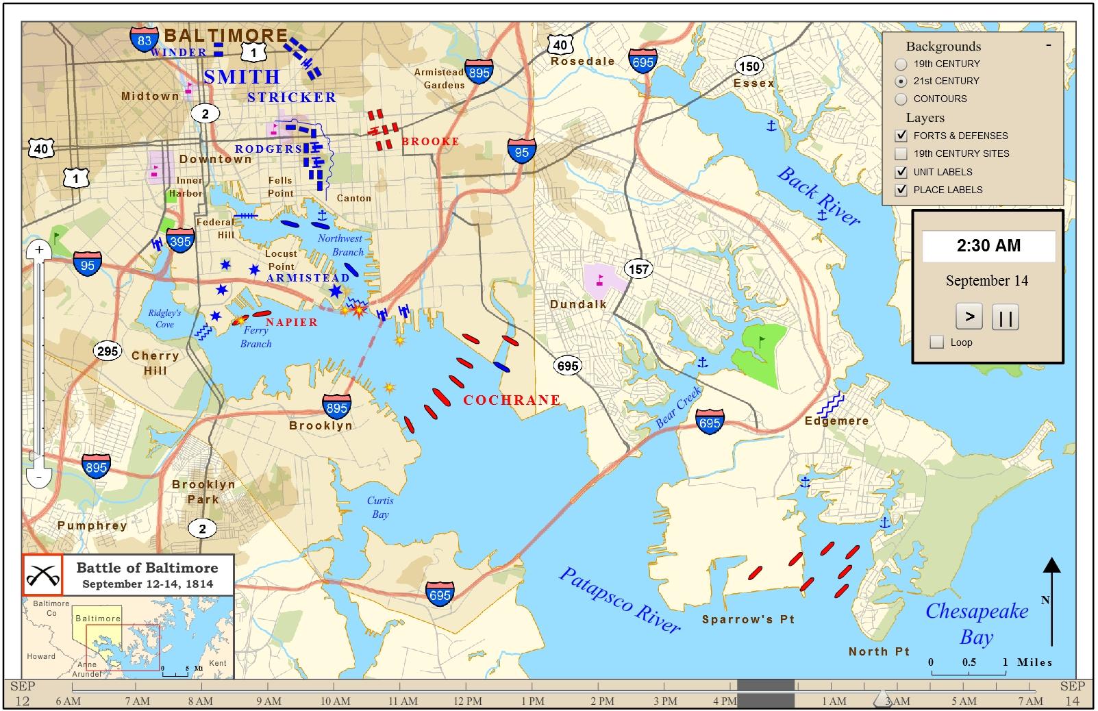 War Of Battles Map