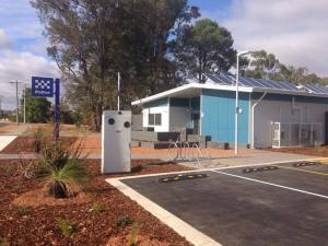 The new Waroona Police Station.