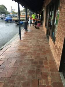 The damaged Foodworks in Gosnells