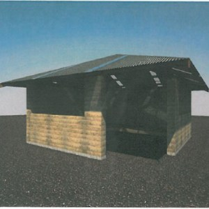 Shelter design (photo supplied by DPAW)