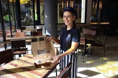 Ribs and Burgers employee, Bianca Koranis
